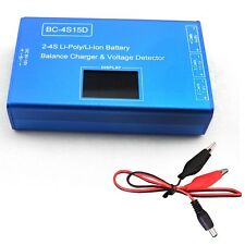 BC-4S15D 1500mA Battery Lithium Lipo Balance Charger With Voltage Display New I