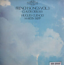 NIMBUS 2127 Debussy French Songs Vol. 3 Hugues Cuenod Martin Isepp [1979] NM/VG