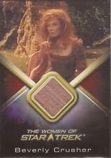 "Women of Star Trek - WCC19 Gates McFadden ""Beverly Crusher"" Costume Card"