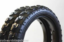 PAIR SOLID FOAM TIRES PRAM SCOOTER BUGGY STROLLER Bicycle Tyre 12-1/2 x 2-1/4
