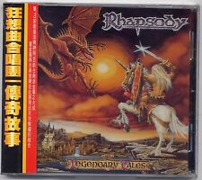 Rhapsody: Legendary Tales (1997) CD OBI TAIWAN
