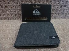 "Quiksilver Men's Wallets ""On The Move"" -- Gray"