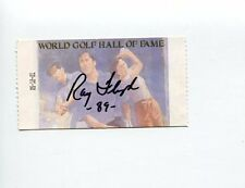 Raymond Ray Floyd PGA Masters Champ Ryder Cup Signed Autograph Ticket