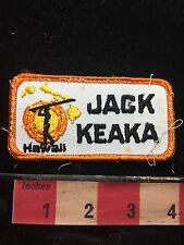 Keaka Hawaiian Patch For First Name Jack Given Name 71WO