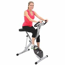 Exercise Bike Upright 250XL Exerpeutic Folding Magnetic with Pulse Monitor NEW!