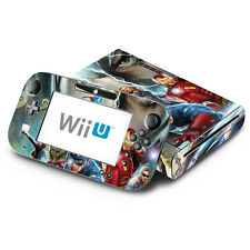 Avengers for Nintendo Wii U Console & GamePad Skin Vinyl Decal Cover