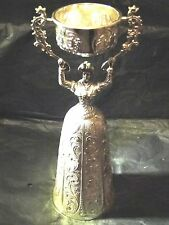 MARRIAGE CUP, STERLING SILVER, MARKED, SPANISH 1950, GREAT QUALITY AND STYLE