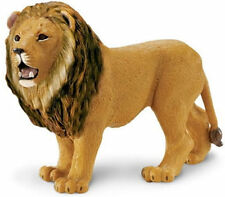 LION WILD ANIMAL MODEL by SAFARI WORKS WELL WITH SCHLEICH AND PAPO - 290229
