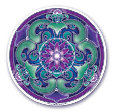 Mandala Arts Window Sticker: Nouveau Lotus