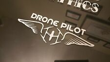 Drone Pilot Wings Inspire Vinyl decal Sticker DJI  Phantom Vision.
