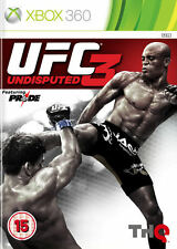 UFC Undisputed 3 XBox 360 *in Excellent Condition*