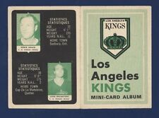 1969-70 O-Pee-Chee MINI-CARD ALBUM  Los Angeles Kings (with 3 stamps) !!