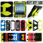 MILITARY SURVIVOR DEFENDER SHOCK PROOF CASE COVER ALL IPAD IPHONE GALAXY PHONES