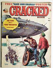 """Cracked Magazine No.6: Sept 1978, The Fonz has a """"Cool"""" Encounter..Etc."""