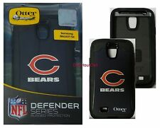 OtterBox Defender Series Case for Samsung Galaxy S4, NFL Chicago Bears, 77-50082