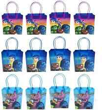 24 bags INSIDE OUT Party Favor Goody gift Candy bags birthday mickey minnie