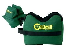 CALDWELL unfilled deadshot shooting bags pair gun rest 248-885 empty set rifle