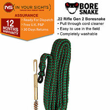 Gen2 .22 Calibre / 5.56mm .223 Cal Bore Snake boresnake rifle barrel cleaner