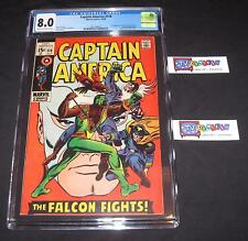 CAPTAIN AMERICA #118 from 1969 CGC 8.0 | 2nd Falcon | Red Skull app | Like CBCS