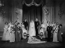"Queen Elizabeth II 1947 Wedding Portrait 14 x 11"" Photo Print"