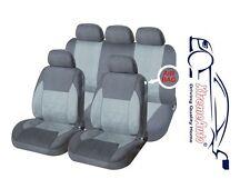 9 PCE Full Set of Grey Mayfair Car Seat Covers for Volvo S40 S60 S80 V40 V50 V60