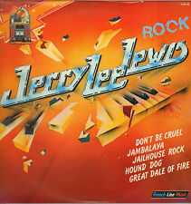 "JERRY LEE LEWIS ""ROCK"" 70'S DOUBLE LP FRENCH LINE MUSIC 06, SUN SESSIONS !"