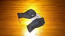 1/6th scale Dragon/BBi Female Black Gloved Hands. No Pegs