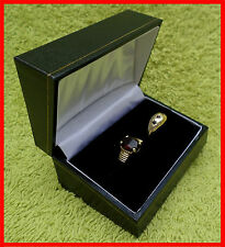 Ring Box Double Box, Leatherette Range, Jewellery Gift Weddings, New.
