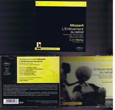 L'ENLEVEMENT AU SERAIL1965 - MOZART BOX SET 2 CDS ZUBIN METHA/ MICHAEL HELTAU