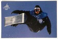 Cartolina Olimpiadi Torino 2006 - Snowboard