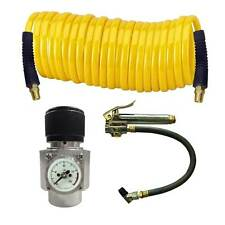 CO2 Regulator, Recoil Hose & Tire Inflator Kit  -WRCO2-TF