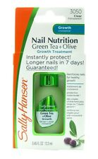 Sally Hansen Nail Nutrition Green Tea + Bamboo Nail Strengthener NEW
