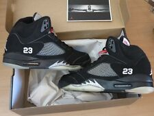 NIKE AIR JORDAN 5 V RETRO BLACK METALLIC SILVER 2006 SIZE 10 / 44 NEW MINT RAR