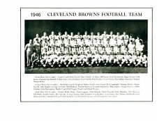 CLEVELAND BROWNS 8X10 TEAM PHOTOS LOT OF 4  1946 1950 1954 1957 FOOTBALL