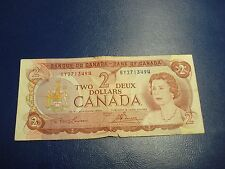 1974 - $2 Canada note - Canadian two dollar bill - BY2713494