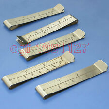 7.5cm Stainless Steel Hem Clips that Slide Over the Fabric While Sewing -- 5 Pcs