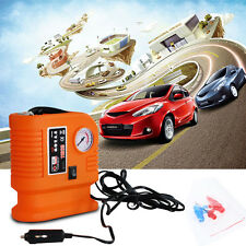 300PSI DC 12V Portable Electric Mini Tire Inflator Air Compressor Car Auto Pump