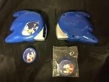 SONIC THE HEDGEHOG X2 BLUE DISC SHOOTER TOYS