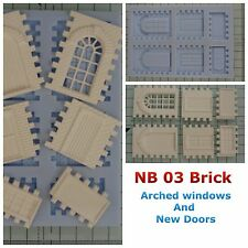 Linka Compatible NEW NB03 Brick Faced Mould New Windows Design And New Door