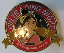 Disney DLP Pin Trading Night Mulan Pin