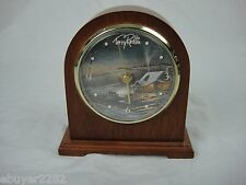 Terry Redlin - Monarch Eve with Friends - Classic Mantle Clock - Wood