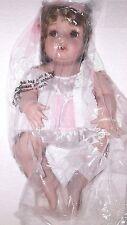 """Hamilton Collection 16"""" Porcelain Doll – Lacey - NIB COA#4602A"""