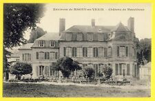 cpa 95 - MAUDÉTOUR en VEXIN (Val d'Oise) Le CHÂTEAU Castle of France Schloss