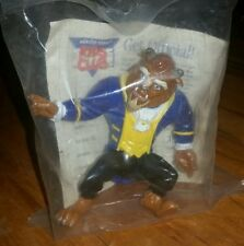1991 Burger King Disney Beauty and the Beast Plastic Beast Action Figure Sealed