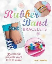 Rubber Band Loom Bracelets Book Lucy Hopping Friendship Looms Bands Instructions