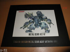 METAL GEAR SOLID ACID 2 limited edition ARTWORK CELL collectible