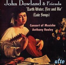 John Dowland & Friends   Lute Songs - Consort Of Musicke (2013, CD NEUF)