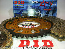BMW S1000RR '12/13 SUPERSPROX / DID ZVMX 525 CHAIN AND SPROCKET KIT *OEM or Q.A