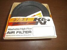 K&N Air Filter Universal 5 1/4 X 2 1 11/16 Offset RU-31 Intake NEW NOS in Box
