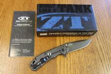 KAI Zero Tolerance ZT 0566BW A/O Folding Knife Blackwash ELMAX SS G-10 & BONUS!!